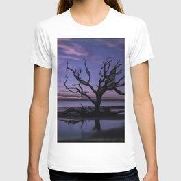 Artistic Driftwood Beach T-shirt