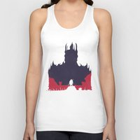 middle earth Tank Tops featuring Middle-earth: Shadow of Mordor by Michael Fisher