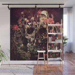 Bloom Skull Wall Mural