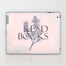 Read Books vintage typography Laptop & iPad Skin