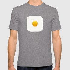 Good Morning, Sunshine Mens Fitted Tee Tri-Grey LARGE