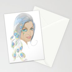 Peacock Rai Stationery Cards