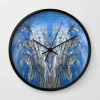 tree of life Wall Clocks featuring Life Tree by Robert Gipson