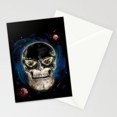Ghost skull Stationery Cards