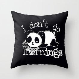 Panda #4 Throw Pillow
