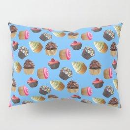 Android Eats: cupcake pattern Pillow Sham