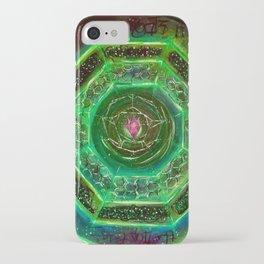 Sacred Sigil Of Archangel Raphael iPhone Case