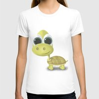 tortoise T-shirts featuring Tortoise by Ainaragm