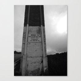 Bridge 179, New Zealand Canvas Print
