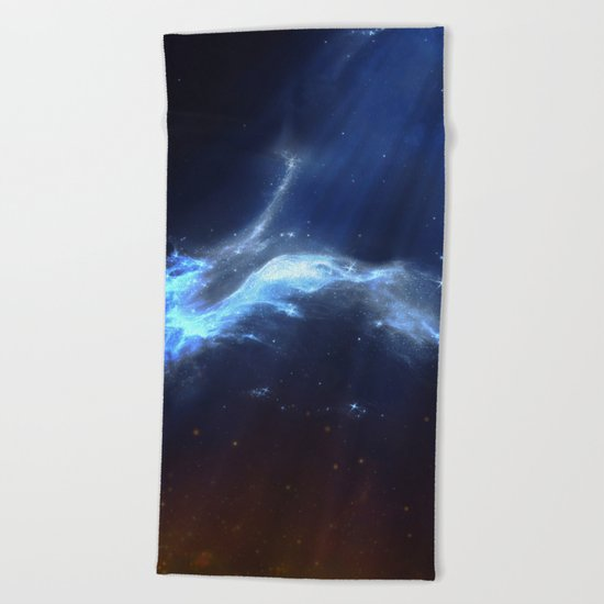 ε Virgo Beach Towel
