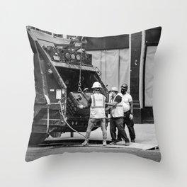 Dirty Job  Throw Pillow
