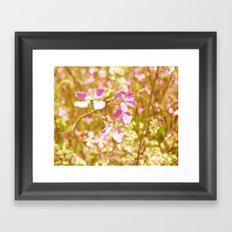Fort Brag Flowers VI Framed Art Print