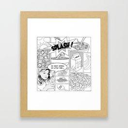 i luv cereal Framed Art Print