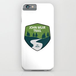 John Muir Trail iPhone Case