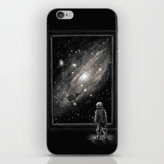 Looking Through a Masterpiece iPhone & iPod Skin