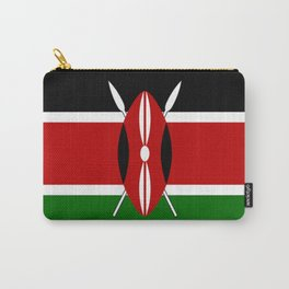 Kenyan Flag Carry-All Pouch