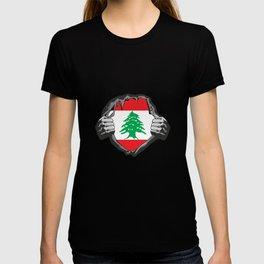 Lebanon Beirut Flag Proud T-shirt