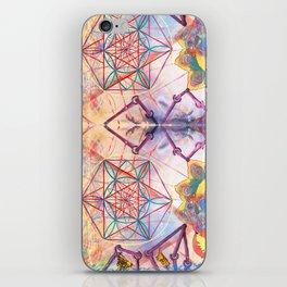 Hindu Geo Psych iPhone Skin
