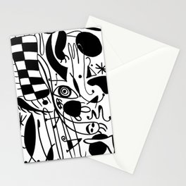 In style of Miro Stationery Cards