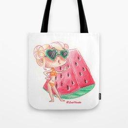 Miss pastèque Tote Bag