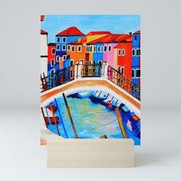 Colors of Venice Italy Mini Art Print