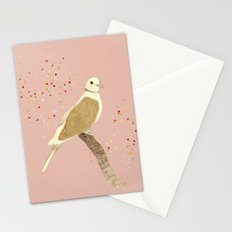 Streptopelia decaocto Stationery Cards