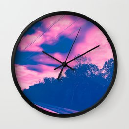 Cotton Cand Lovers' Lane Wall Clock
