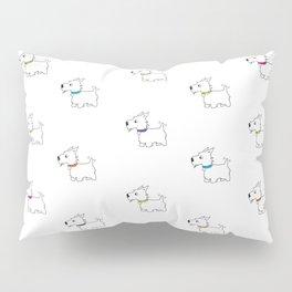 Westie West Highland White Terrier Pillow Sham