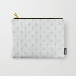 Frost Pattern Carry-All Pouch
