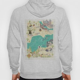 Princess Bride Discovery Map Hoody