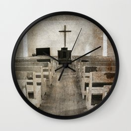 Inside Church Wall Clock