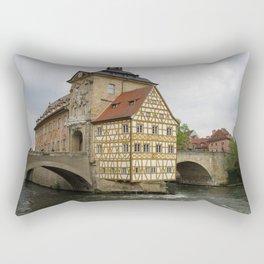 Rathaus Bamberg Rectangular Pillow