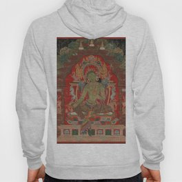 Green Tara 13th Century Tibetan Buddhism Art Hoody