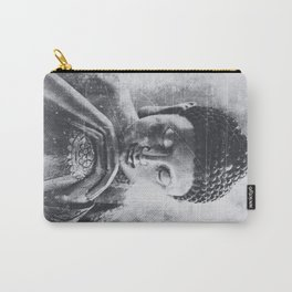 Buddha Grunge Carry-All Pouch