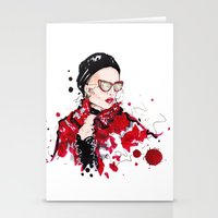 vogue Stationery Cards featuring VOGUE by CARLOS CASANOVA