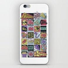 Crash Boom Bang ... iPhone Skin