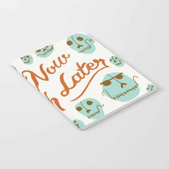 Laugh Now Laugh Later Notebook