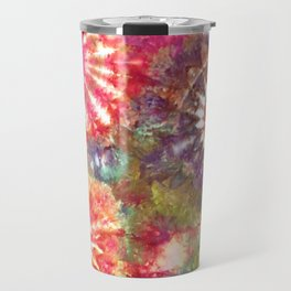 Kaleidoscope Burst Garden Travel Mug