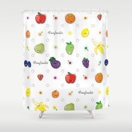 Frufrutis Shower Curtain