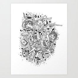 Linked Art Print