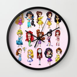 Disney Princesses Wall Clock