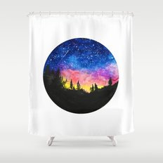 Aurora Borealis II Shower Curtain