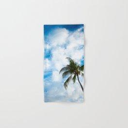 The Sky and a Coconut Tree Hand & Bath Towel