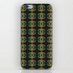 Peacock Bead Abstract iPhone & iPod Skin