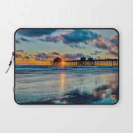 Surf City Sunset  11/15/15   Laptop Sleeve