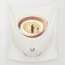 My drink needs a drink Wall Tapestry