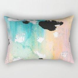 Blotchy Memories Rectangular Pillow