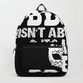 Bdsm Mask Backpack