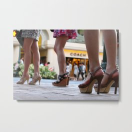 Well-Heeled Society Metal Print