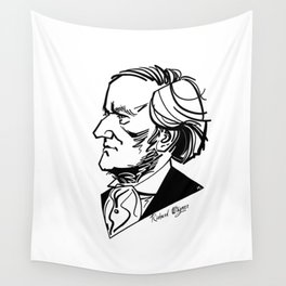 Richard Wagner Wall Tapestry
